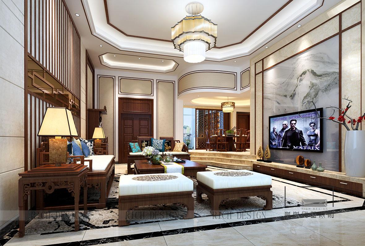 别墅中式装修设计案例