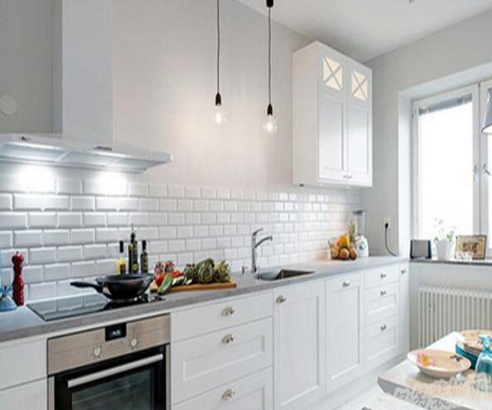 别墅欧式厨房装饰效果图