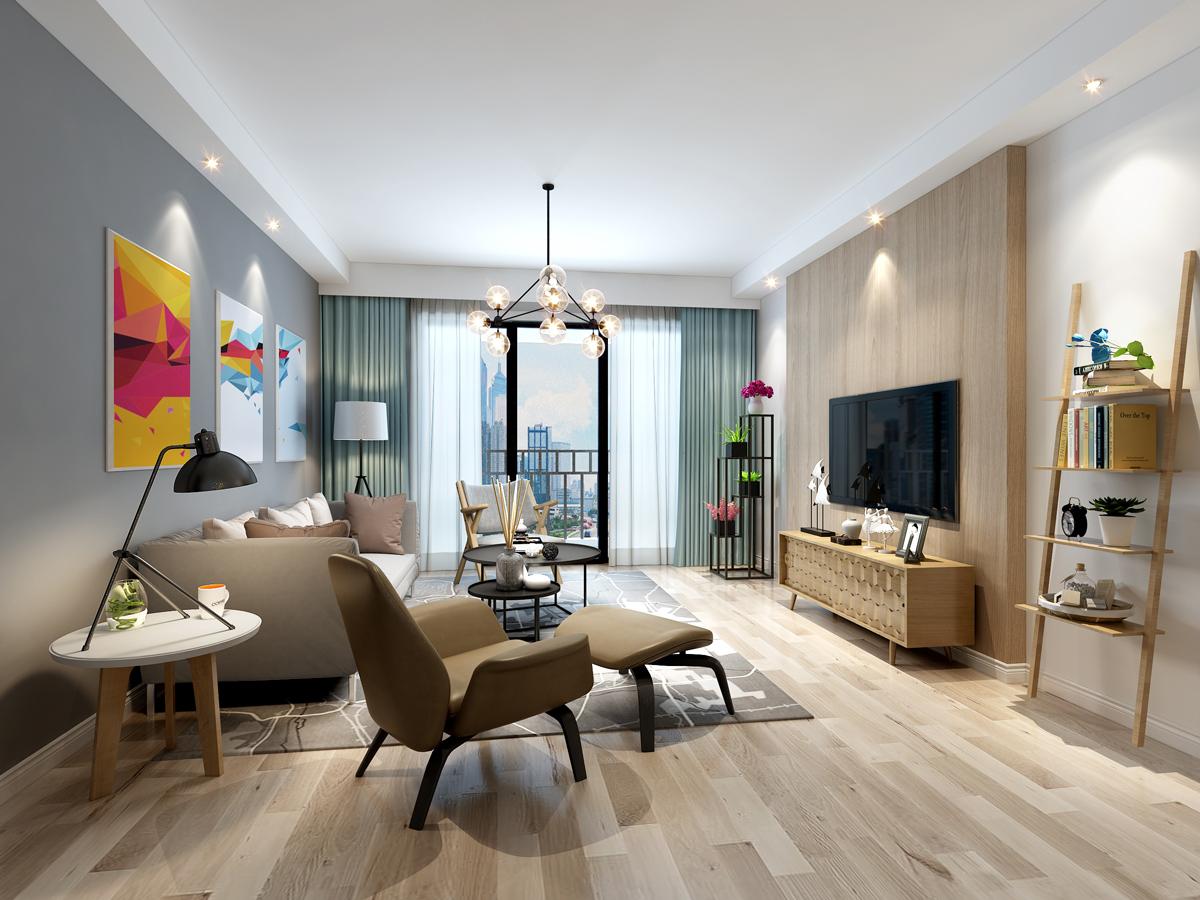 别墅客厅装修设计效果图
