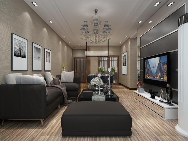 不同的别墅客厅装修风格,给你不一样的视觉冲击感图片