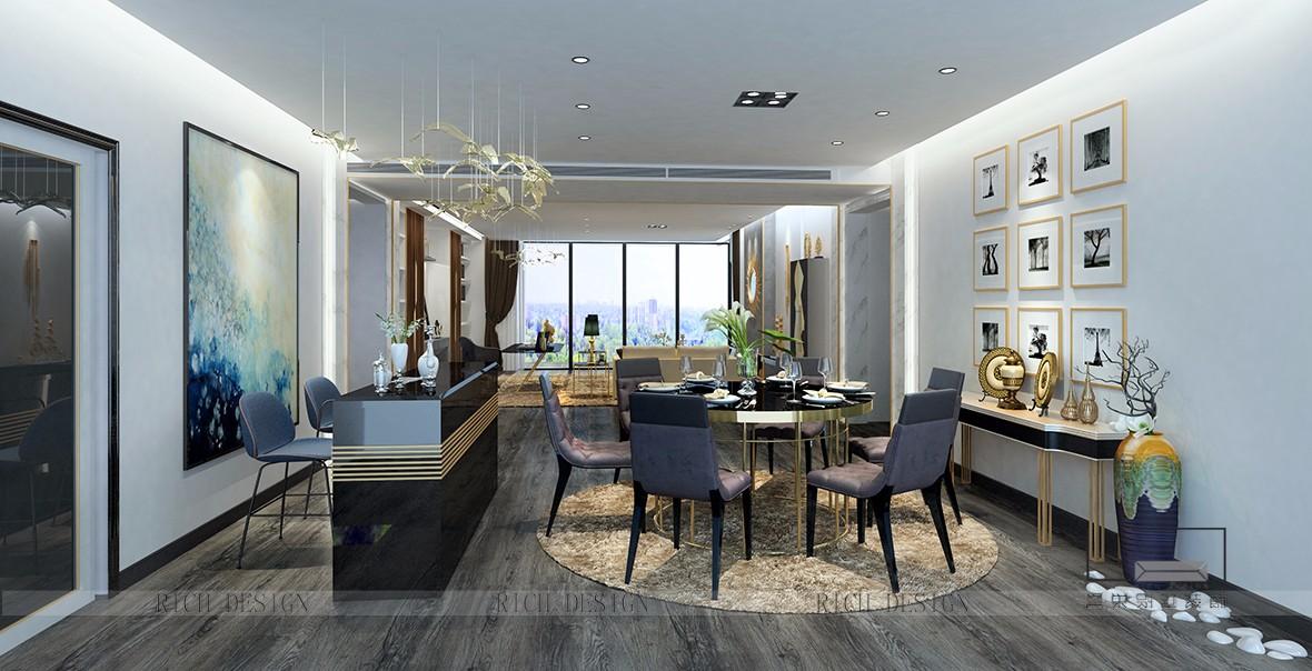 純水岸現代別墅裝修設計風格