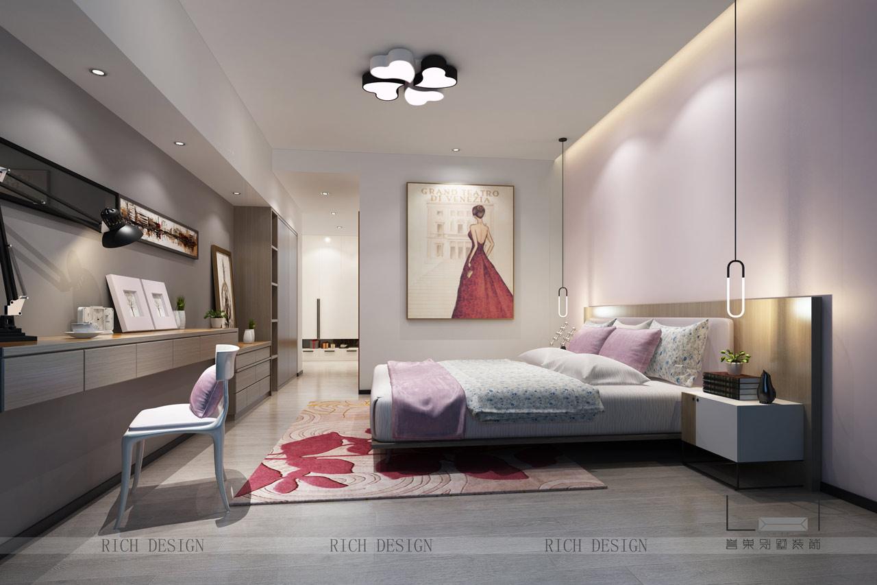 背景墙 房间 家居 起居室 设计 卧室 卧室装修 现代 装修 1280_853