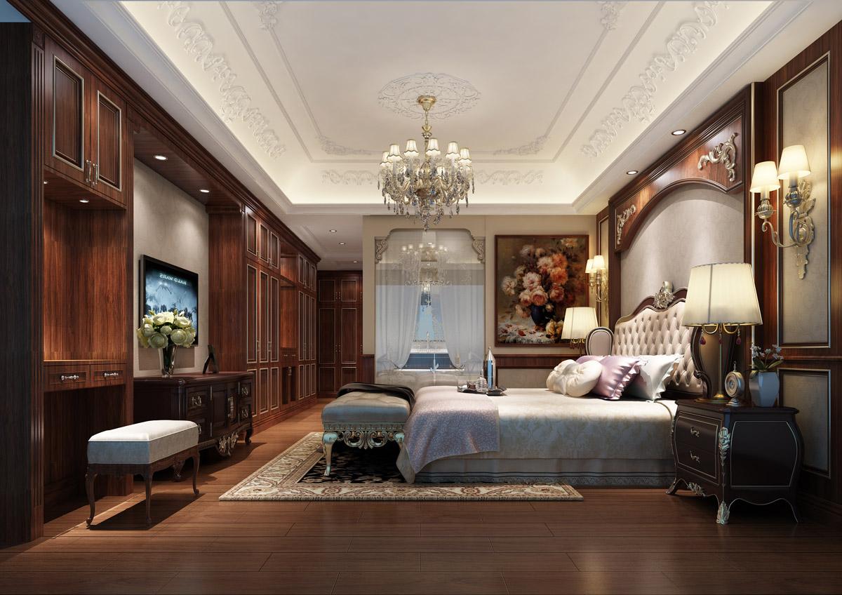 欧式新古典风格的样板房中缓缓弥漫开来,那是华美的水晶灯,精致的茶盏