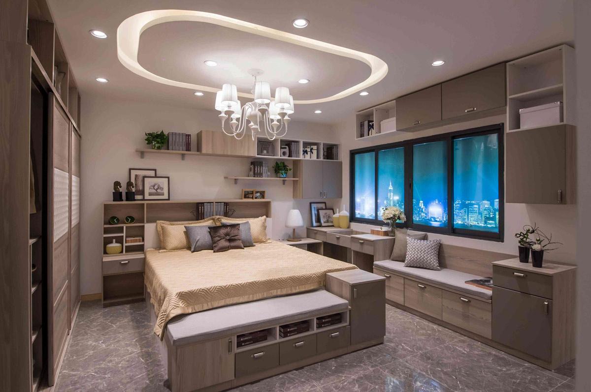 收纳柜台利用非常有创意,可以在衣柜上,窗台上,沙发,卧床等装饰收纳小图片