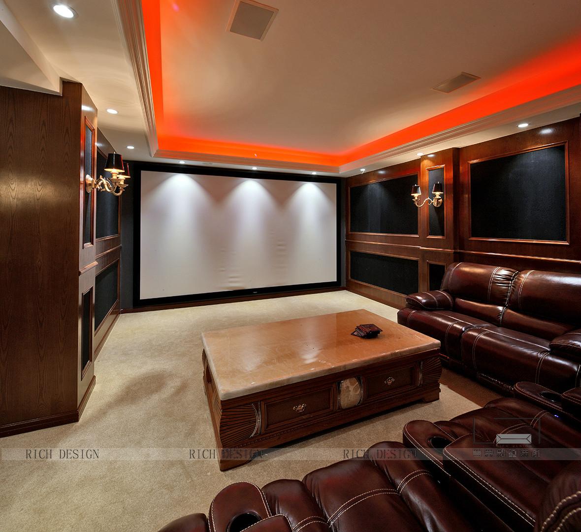 现代影视厅空间素材