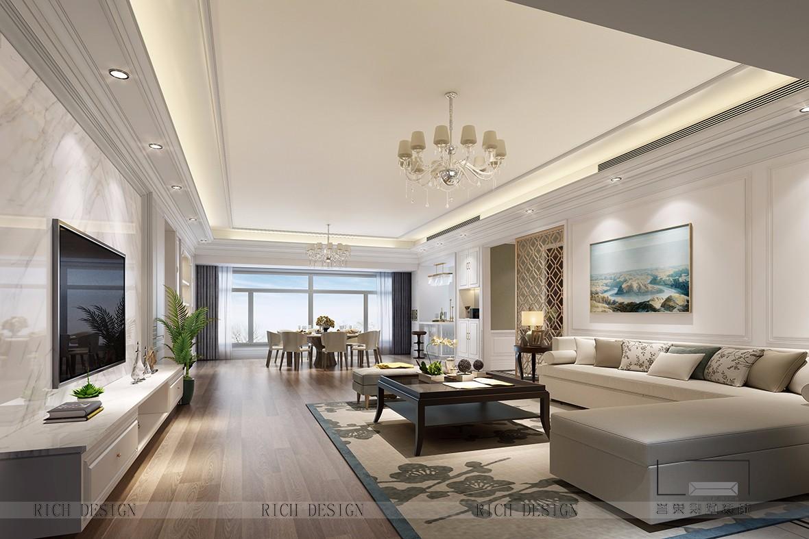 别墅现代装饰风格效果图