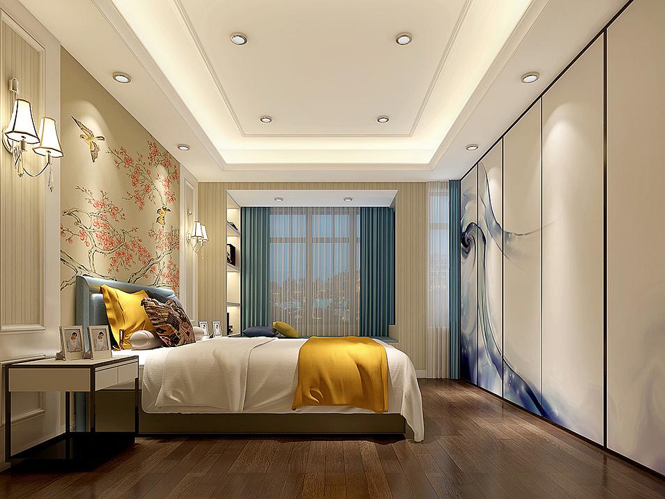 新中式装修风格效果图案例,给您一个丰富多彩的家庭生活