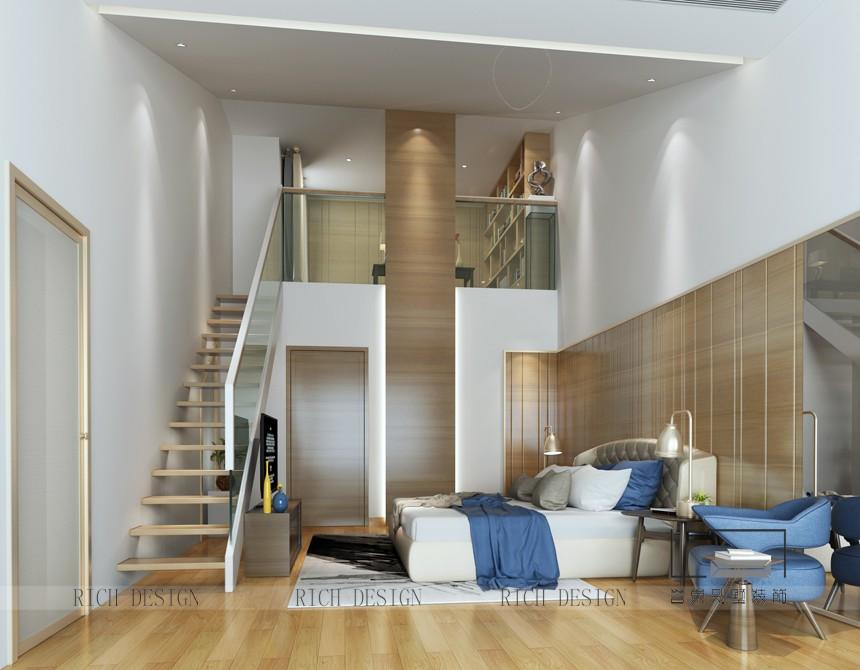 现代简约卧室装饰效果图