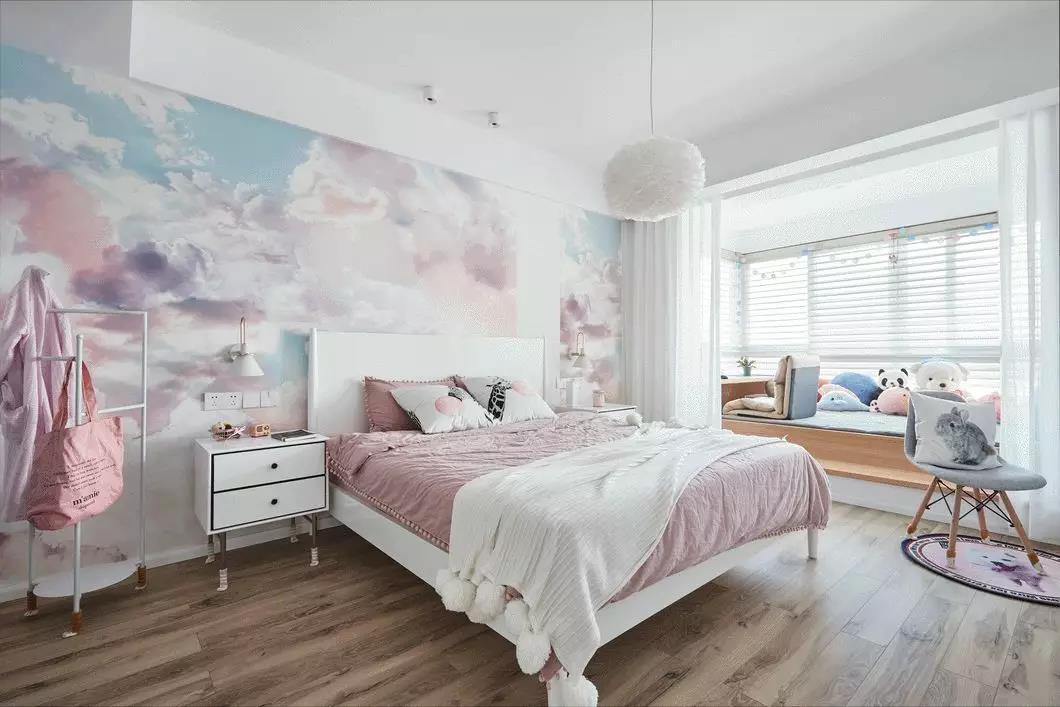 背景墙 房间 家居 设计 卧室 卧室装修 现代 装修 1060_707