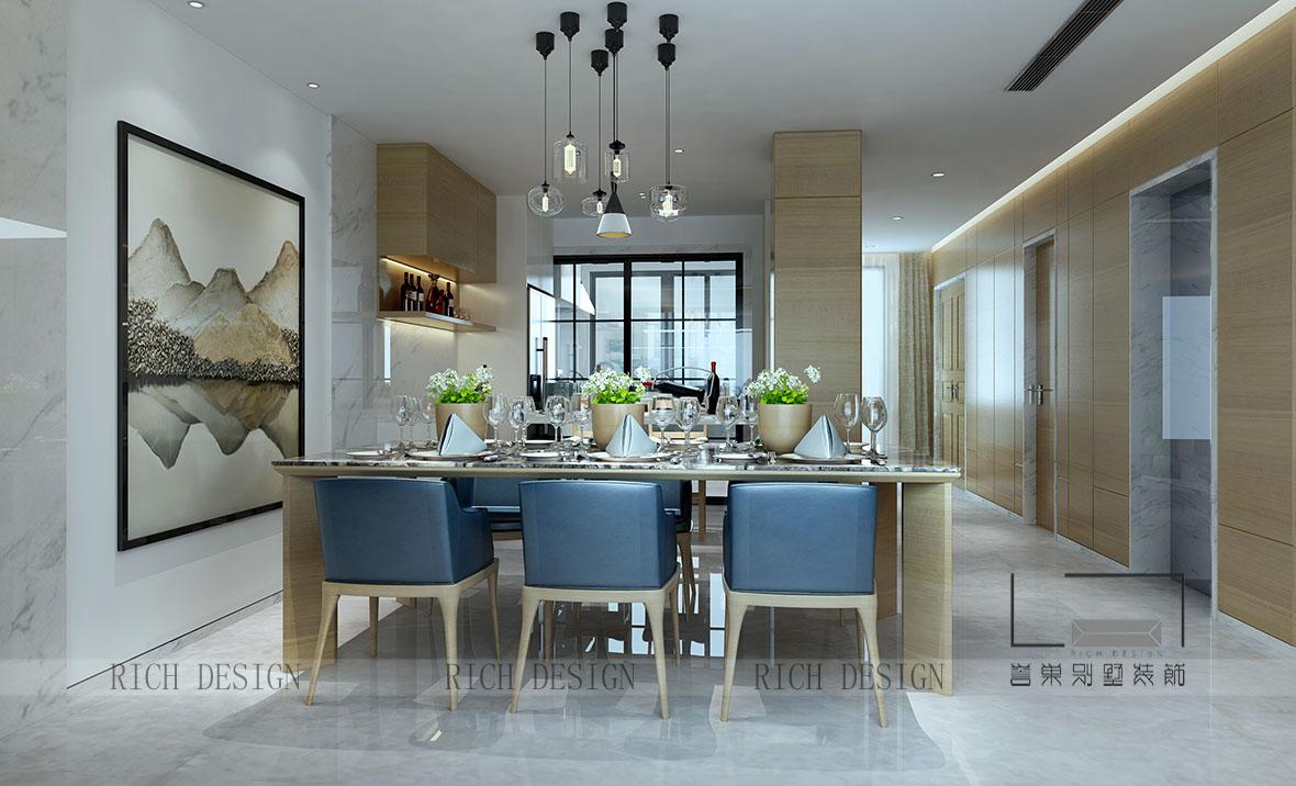 中国简约别墅装修设计,享受内心返璞的恬淡
