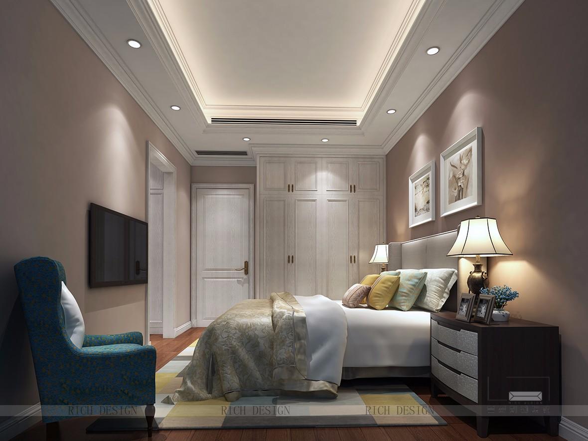 中洲中央公园卧室装修效果图