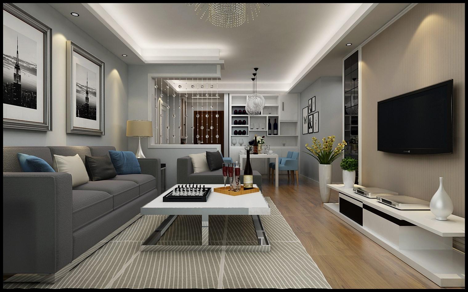 【誉巢装饰】室内装修设计,大气又时尚的新家就该这样