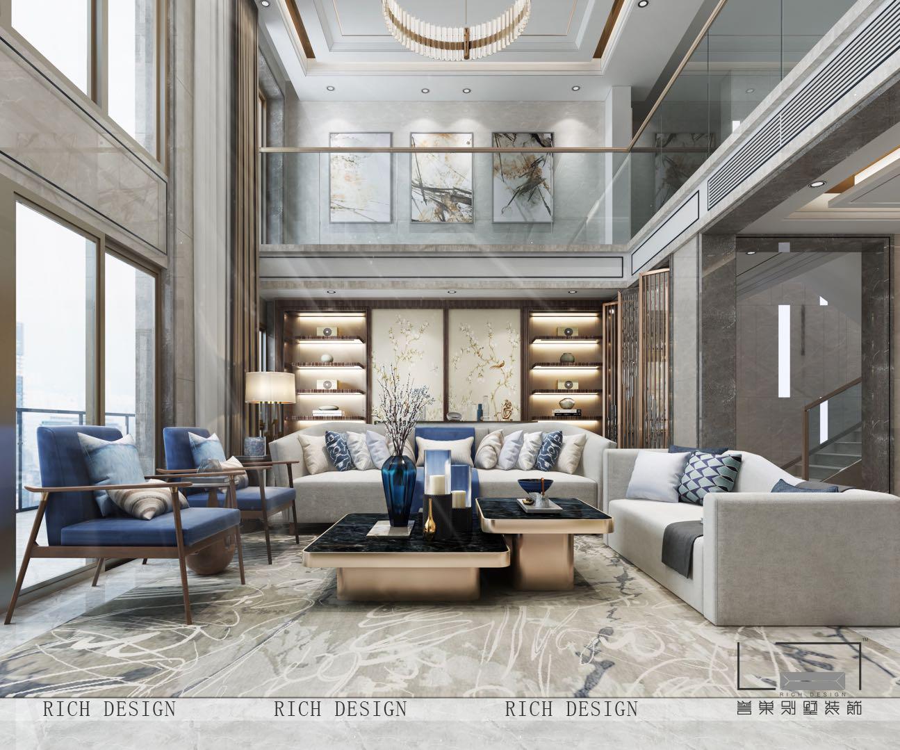 现代别墅客厅装修风格