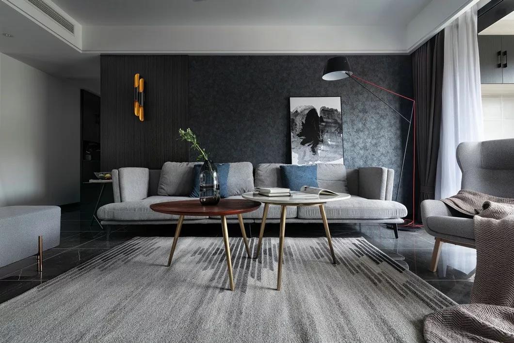 现代客厅沙发装修效果图