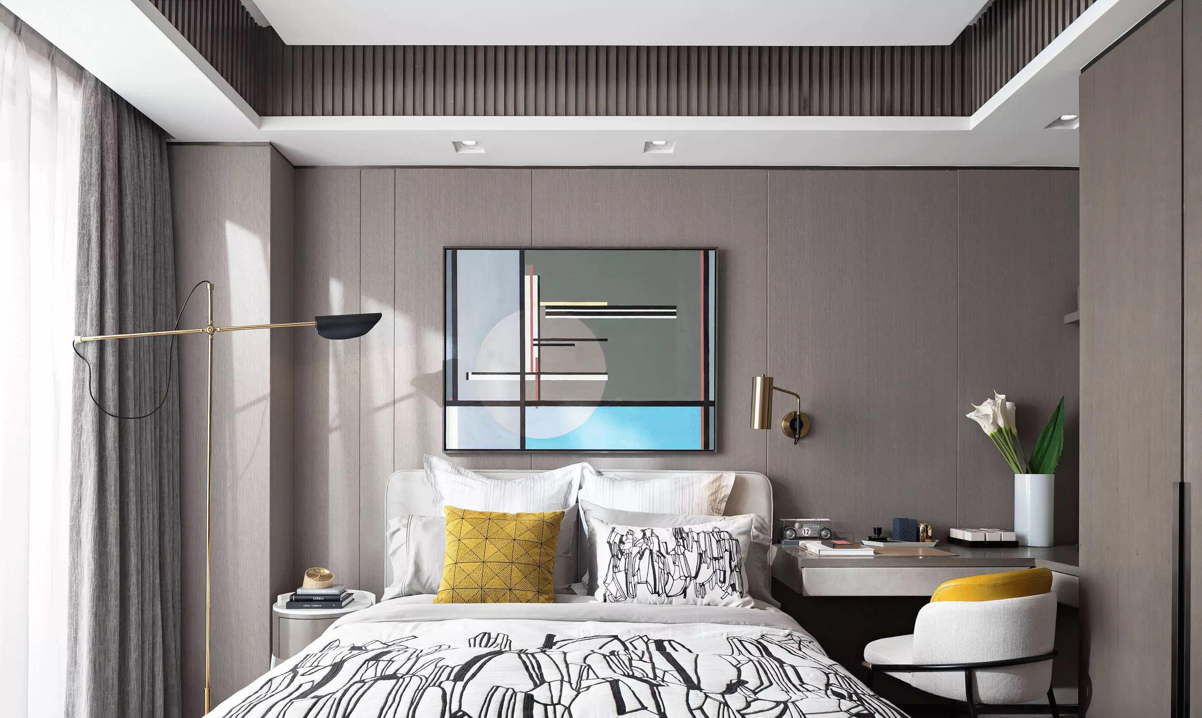 现代卧室装修设计效果图