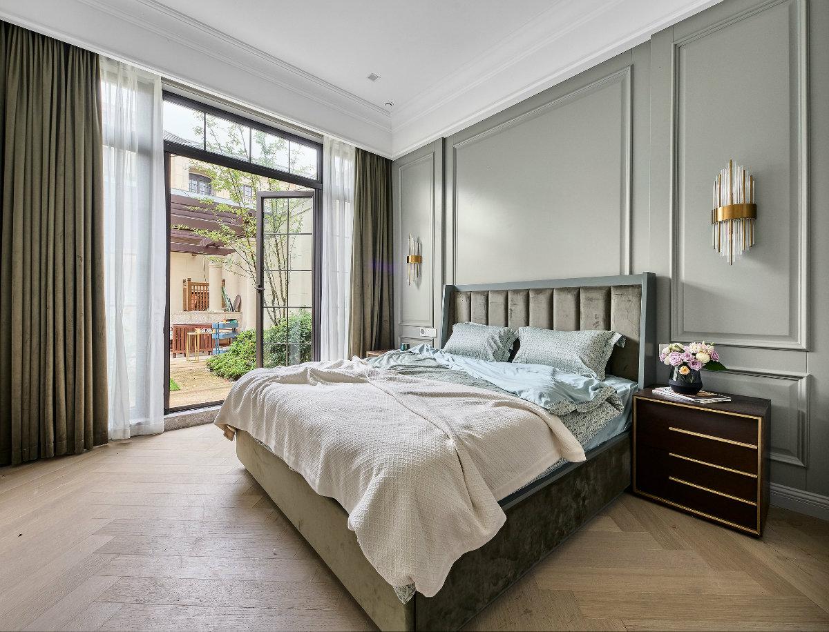 美式风格卧室